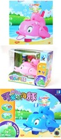 Happy Dolphin Blowing Bubbles Toys /Running, Lingting & Sounding (996A) Wholesale & free shipping, Retail Allowed