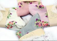 Женские носки TUTUANNA vintage lace socks casual socks cute fall fashion B-017