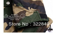2012 Supreme autumn and winter men Camo thicker coat jacket free shipping