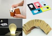 Праздничное освещение 20PCS/Lot Mini LED Credit Card Light, Cerative Card lamp, Pocket LED Light for