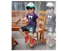 дети рубашки t 2015 ребенка летом Мода Одежда дети короткий рукав футболки мальчиков поддельные смокинг полиграфический дизайн c0075