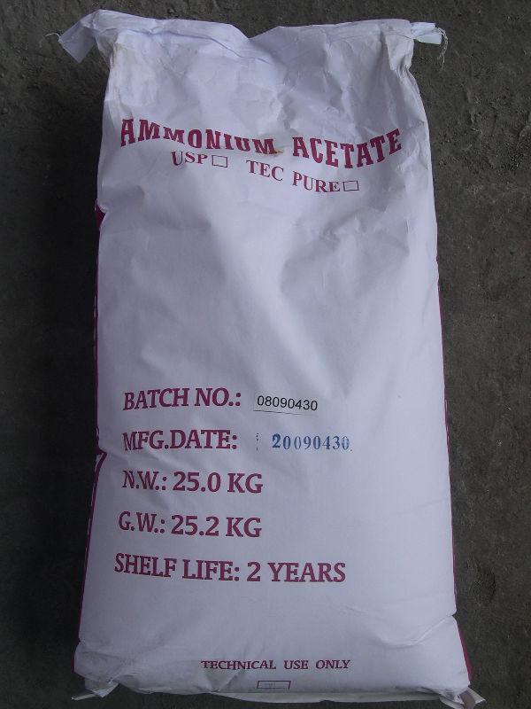 Ammonium acetate formula