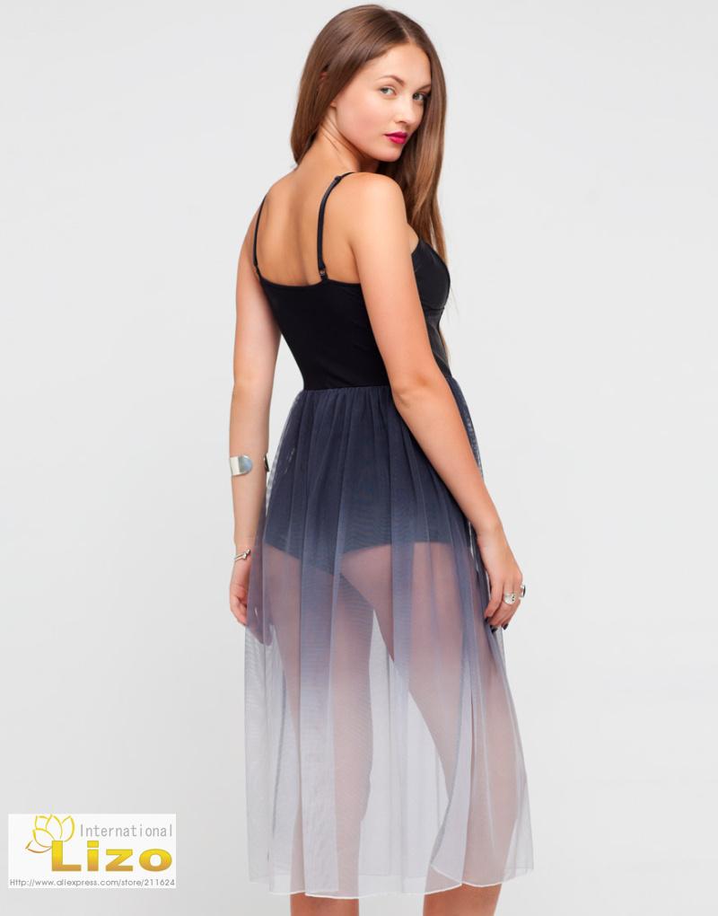 Платье С Прозрачной Юбкой С Доставкой