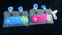 Cute Cartoon Animal Soft coin purse bag pouch cell phone wallet purse