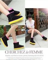 Потребительские товары 2014! Women's Snow Boots For Ladies Winter Autumn High Quality Fashion New Style | XT001