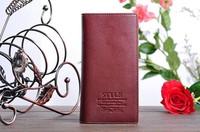 Кошелек price long style genuine leather men's wallet purse