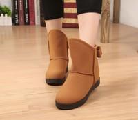Женские ботинки TOP Quality Women flat shoes with thick bottom flat short boots female bootsXLU