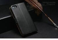 Роскошные бумажник стиль кожаный чехол для iphone 5c с стоят 2 карты holders1 Билл стороне 10 цветов 10 шт/много