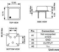 Осциллятор CY 48 4pin ROHS E1