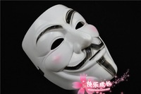 500pcs/lot Halloween costumes mask V For Vendetta mask for costume party performance/Carnival mask