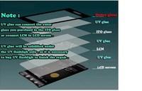 подлинный oem УФ loca жидких оптические ясно клей клей для ЖК и сенсорный экран для samsung galaxy s3 s4 note2 / iphone 4 4s 5