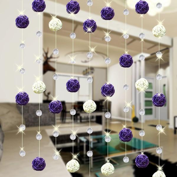 ротанговые шарики в интерьере фото