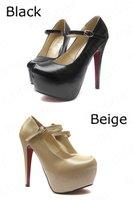 Туфли на высоком каблуке 2012 Best seller 10CM High and Platforms Pumps XZ003