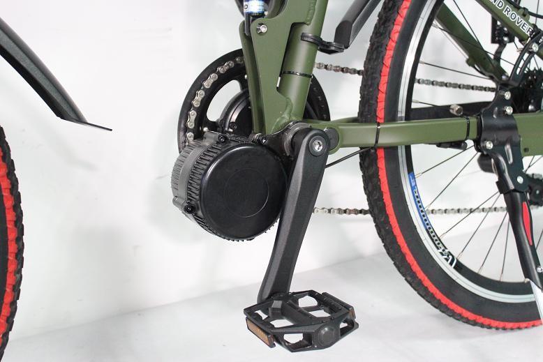 Подвесной электродвигатель для велосипеда
