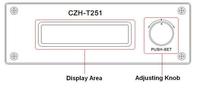 czh-t251 25w fm transmitter panel1