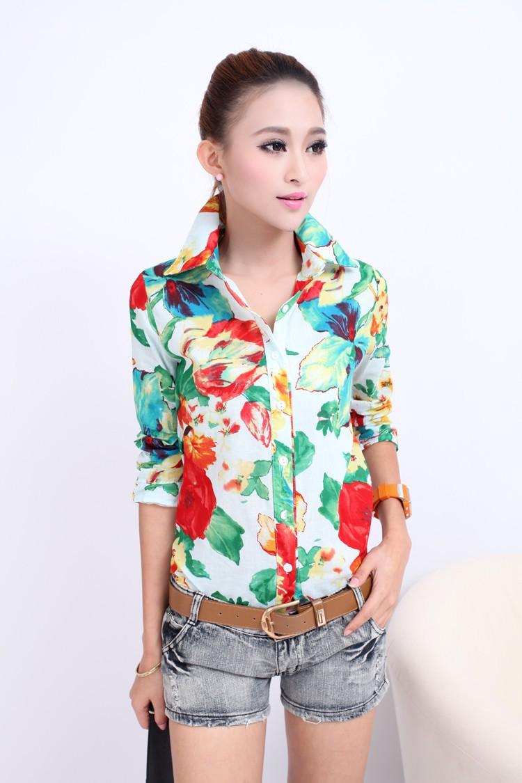 Шифоновые Красивые Блузки И Рубашки Женские