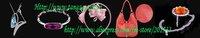 Запонки и зажимы для галстука Tangzg 2pairs /esc Ctrl CL01