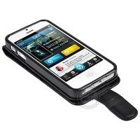 Чехол для для мобильных телефонов Top grade leather phone case for iphone 5 down to up turn open case for iphone5 original Hong Kong brand
