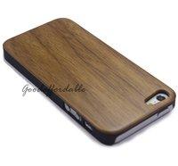 Чехол для для мобильных телефонов PC&Bamboo Wood Hard Cover Case for Phone 5 5G