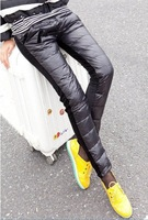 Женские брюки Fashion cultivate one's morality feet pants lady outside wear down pants show thin