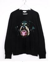 Женские толстовки и Кофты EAST KNITTING FH-236 Woman Chic Dog head Rottweil Print hoodies New brand sweatshirts womens pullovers