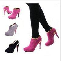 Туфли на высоком каблуке Fashion high heels Roman Ankle boots A071