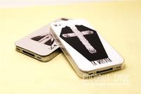Чехол для для мобильных телефонов hard case for iphone 4/4S design proctective cover/la muerta/ the King of Clubs