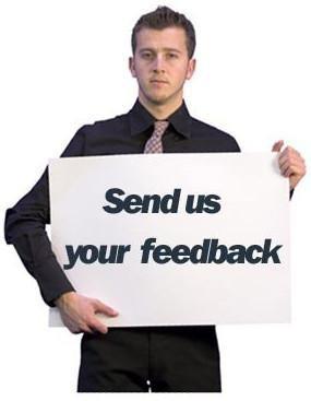 send feed back