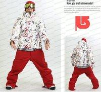 Новый 2010 мужчины б * onski сноуборд пальто верхней одежды