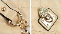 Сумка через плечо fashion heart rhombus design women leather handbag/Shoulder Bag WLHB481