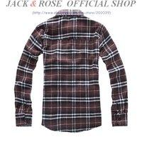 Мужская повседневная рубашка HOT SELLING SHIRT~Men's Long Sleeve Plaids Shirt /Cotton Shirts