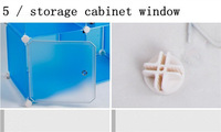 Пластиковая мебель On Sale Garderobe Wardrobe design Wardrobe system Schrank Chests Armario DIY Armoires Shelves Hangers bookcase Shelves 1set