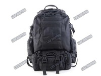 Рюкзак tactical bag military army Multifunctional Knapsack Backpack Black free ship