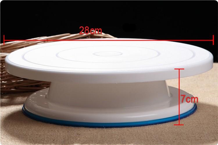 Вращающийся круг для торта своими руками 48