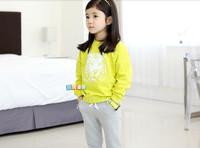 Autumn baby girls clothing set children's sports leisure suit children's clothes set girl's clothes