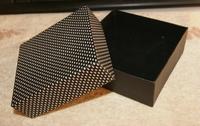 Подарочная коробка для ювелирных изделий 24pcs/lot 8x8x3.5cm Timeless Classic Black and White Jewelry Box Bracelet/Necklace Box Gift Box