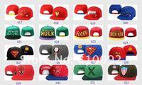 Мужская бейсболка New Arrive Cartoon snapback caps, superman hats, 20pcs/lot