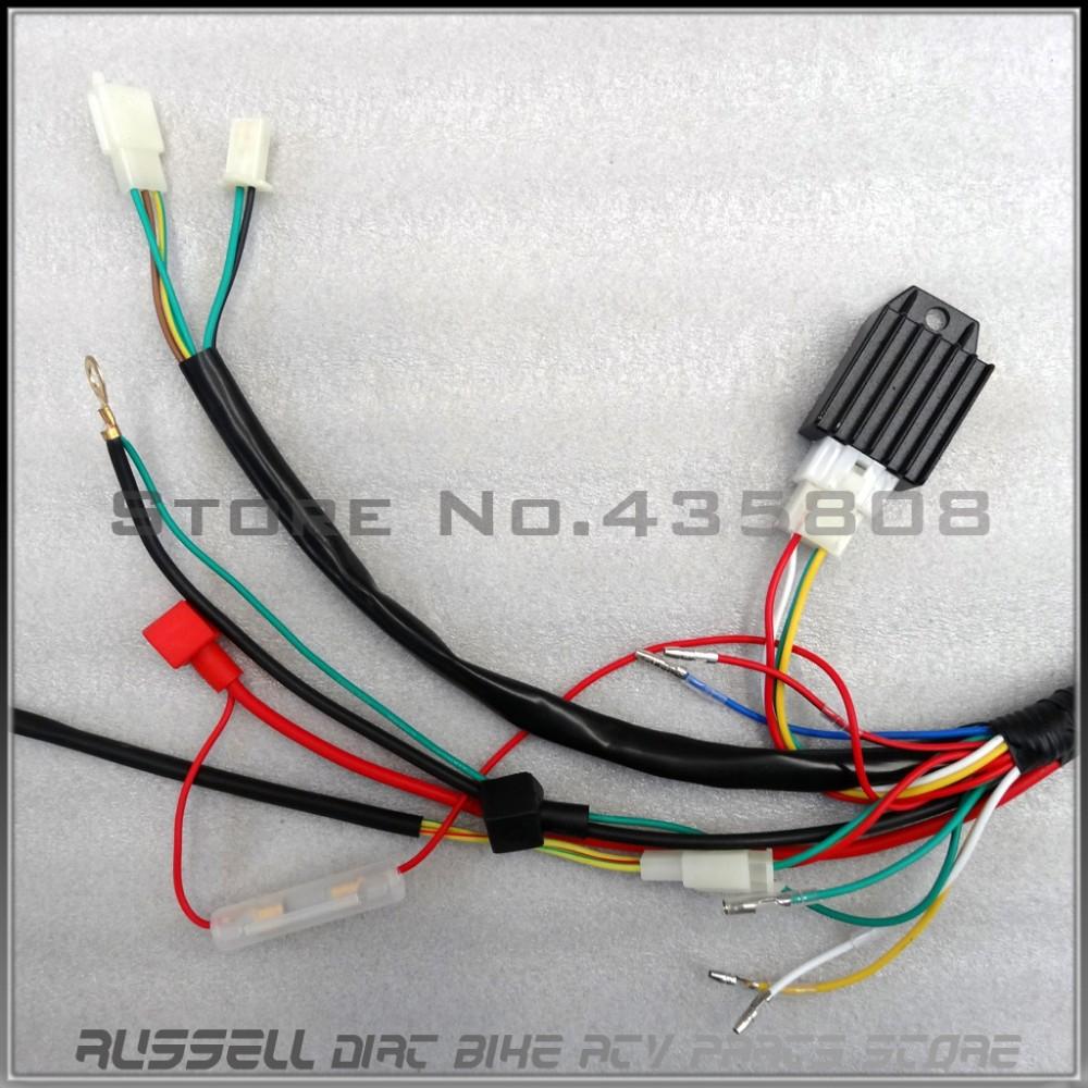 wiring diagram besides pit bike stator on pit bike wiring