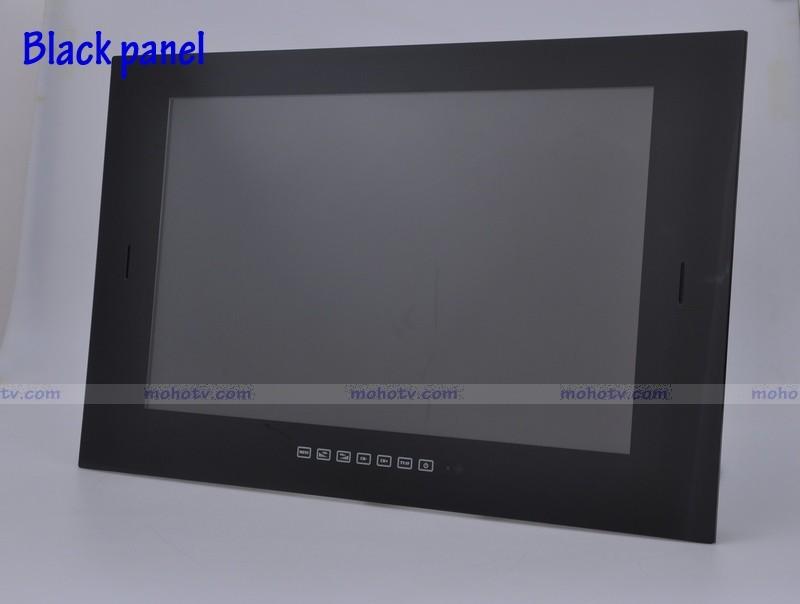 Mirror 5 black 2. New 15 6  39   39 waterproof Wide LCD Digital TV Bathroom Mirror TV   DVB