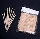 Инструменты для дизайна ногтей 100X Nail Art Orange Wood Stick Cuticle Pusher Remover