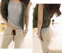 Free shipping high quality women's pants, cotton harem pants 3 colour size L,XL 8078
