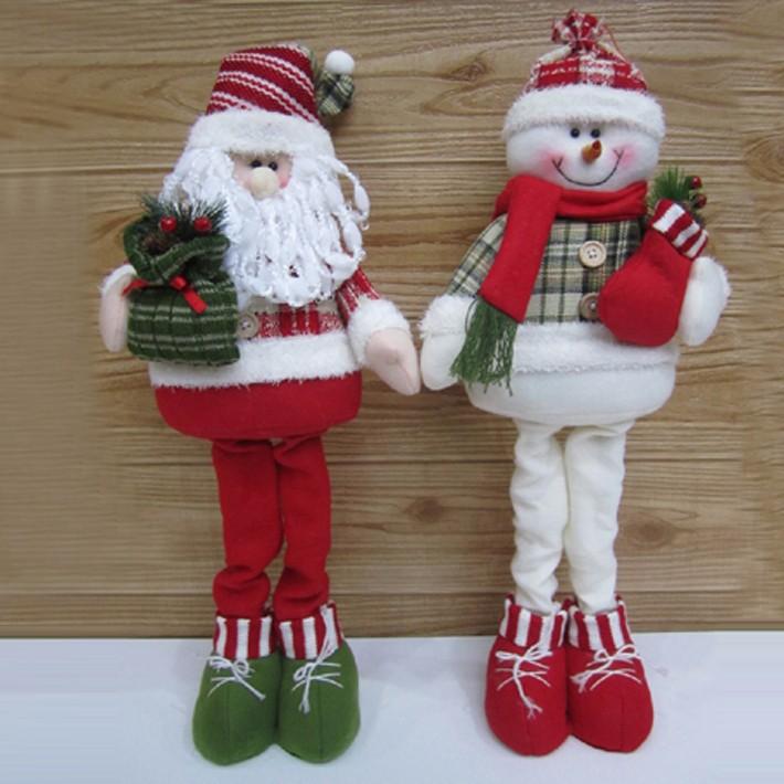 Снеговики на ножках своими руками 3