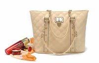 New arrival fashion heart  rhombus design women leather handbag/Shoulder Bag WLHB481