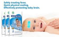 Товары для красоты и здоровья Factory Price 8Pcs / Lot Cooling Fever Patch For Baby