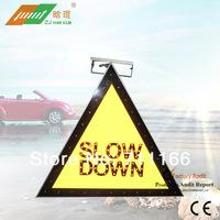 Сигнал для регулировки уличного движения LED solar flashing traffic slow signs