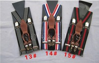 free shipping the latest fashion nylon elastic boys/girls/kids/children's suspenders /straps/braces14 colors p-7