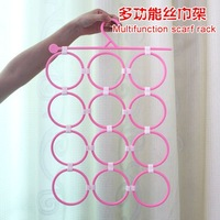 Вешалки и стойки для белья 3pcs/lot, Round hole rack scarf ~ multi-function hanger / tie rack porous, Multifunction scarf rack, best-selling