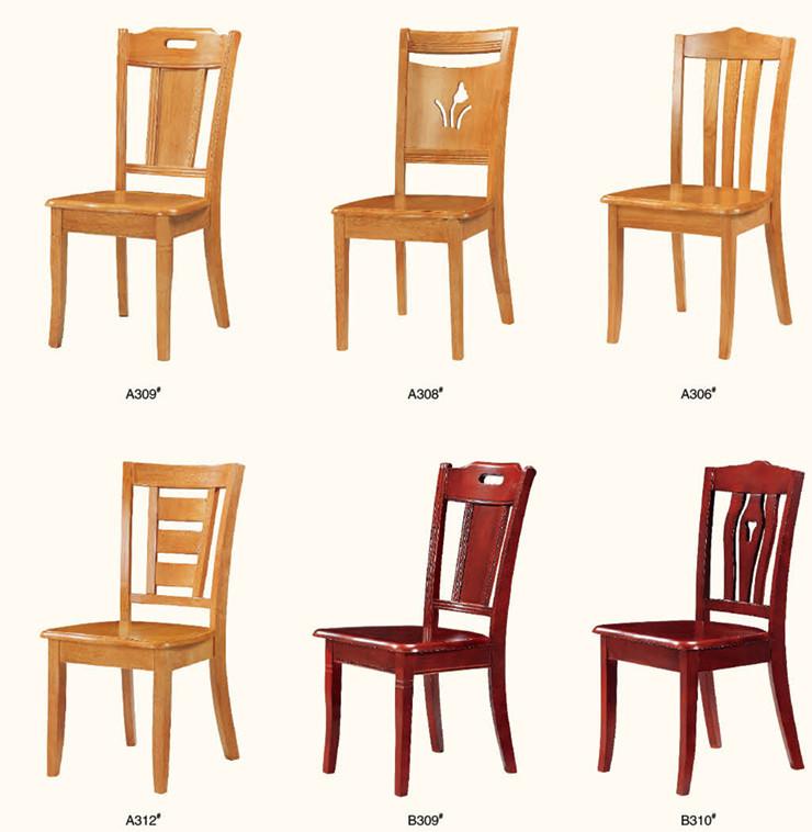 Roble directo de la f brica mesas y sillas de comedor con for Fabrica sillas comedor