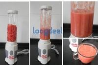Juice machine multifunctional Mini Electricity juicer Pocket Sports Bottle Blender + Brush !Low price Free Shipping