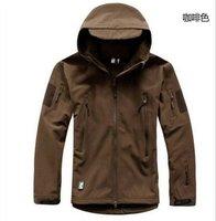 Мужская одежда для кемпинга The lurker shark skin soft shells/charge garment/soft shell tadv4.0 outdoor military dress jacket coat